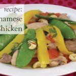 Recipe- Stirfry Chicken mango strip #recipe #