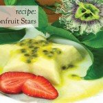 Recipe Sweet Passionfruit Stars desert
