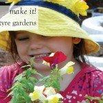 Repurposed car tyres make great flower gardens