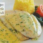 Lemon Myrtle Barramundi Recipe #fish #creamysauce #recipe #aboutthegarden