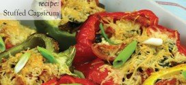 Recipe Vegetarian Stuffed Capsicums