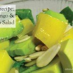 Recipe quick mango and avocado salad #garden #aboutthegarden