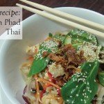 Recipe vegetarian phad thai #garden #aboutthegarden