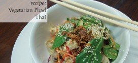 Recipe Vegetarian Phad Thai