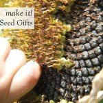 Make it Sunflower seed gifts bags #kids #craft #partypack #flower #aboutthegarden