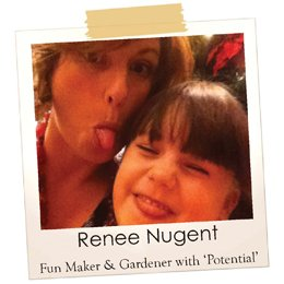 Renee Nugent writer for the About the Garden magazine and funmarker
