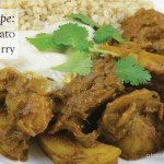 Spicy potato curry Recipe #vegetarian #garden #recipe #aboutthegarden