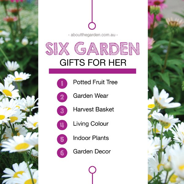 Six garden gift for her mothers day