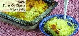 Recipe Three (3) Cheese Potato Bake