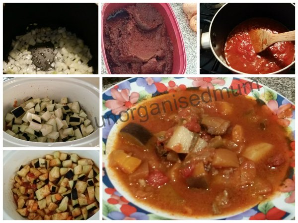 vegetarian dish to use the eggplant from your garden