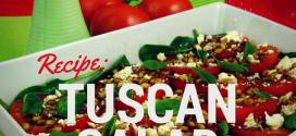 Tuscan Fresh Tomato & Basil Salad