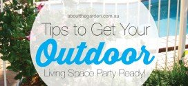 Tips to get your outdoor living spaces party ready