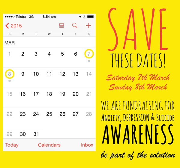 Garden Centres Fundraising for Depression Awareness save these dates in march 2015