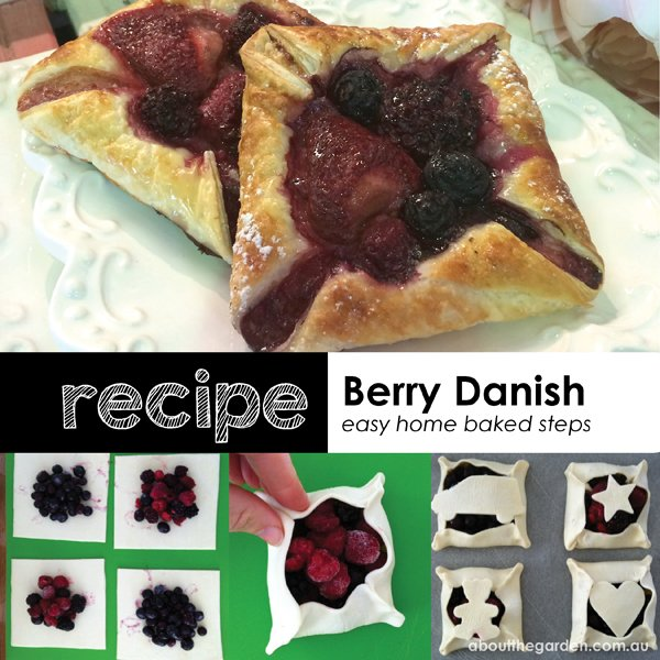 Recipe berry danish easy home baked steps