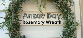 Rosemary Wreath for Anzac Day