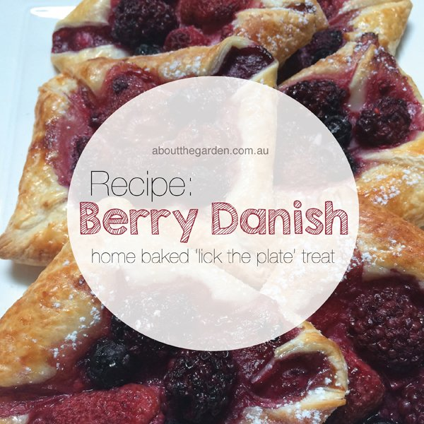 recipe home baked fresh berry danish