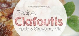 Recipe Apple & Strawberry Clafoutis