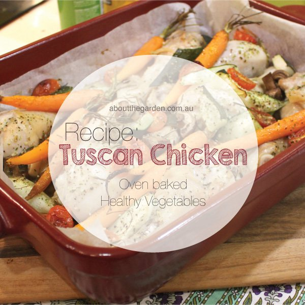 recipe tuscan chicken bake healthy vegetables