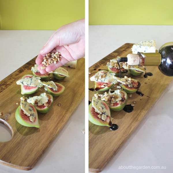 Fig Blue Vein Cheese Starters recipe steps #garden aboutthegarde