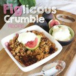 Fig Crumble dessert #recipe #garden #aboutthegarden.com.au.indd