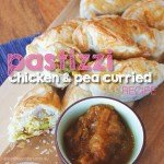 Chicken and Pea Curried Pastizzi #recipe #garden #aboutthegarden