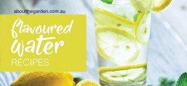 Flavour infused water recipes using herbs, fruit and spices