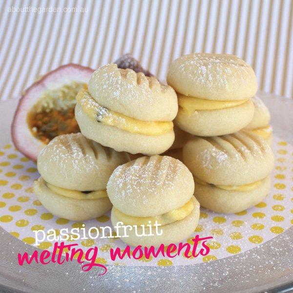Passionfruit melting moment recipe.indd