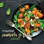 Roasted pumpkin and feta salad recipe.indd