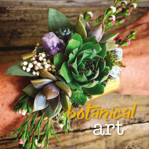 Australian Botanical Artist Roz Borg #aboutthegardenmagazine.ind