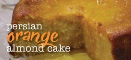 Persian orange & almond cake – gluten free cake