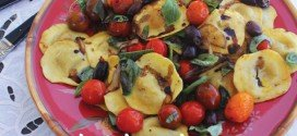 Roasted tomato & mushroom ravioli recipe
