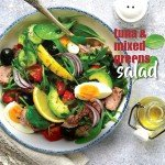 tuna and mixed greens salad recipe.indd