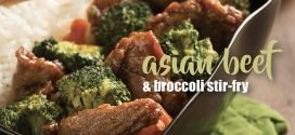 Asian beef & broccoli stir-fry recipe